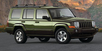 2008 Jeep Commander, side three quarter, exterior