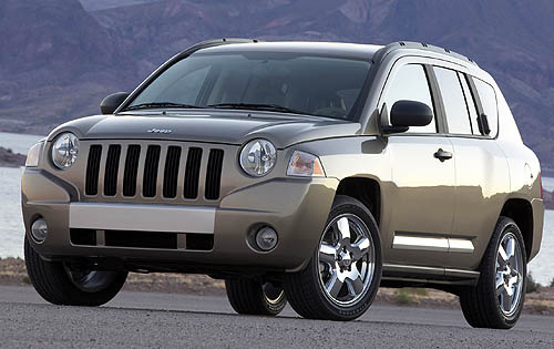 2008 Jeep Compass, front three quarter, exterior