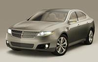 2009 Lincoln MKS, front, exterior, manufacturer