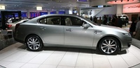 2009 Lincoln MKS, side, exterior
