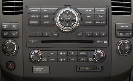 2008 Nissan Pathfinder. 2008 Nissan Pathfinder, radio,