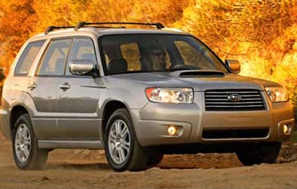 The 06 Subaru Forester