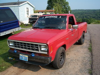 1985 Ford Ranger, After she got to Pa.