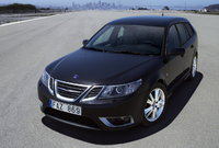 2008 Saab 9-3 SportCombi, front three quarter, exterior, gallery_worthy