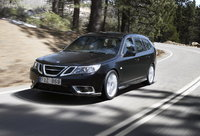 2008 Saab 9-3 SportCombi, front, gallery_worthy
