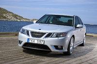 2008 Saab 9-3, front