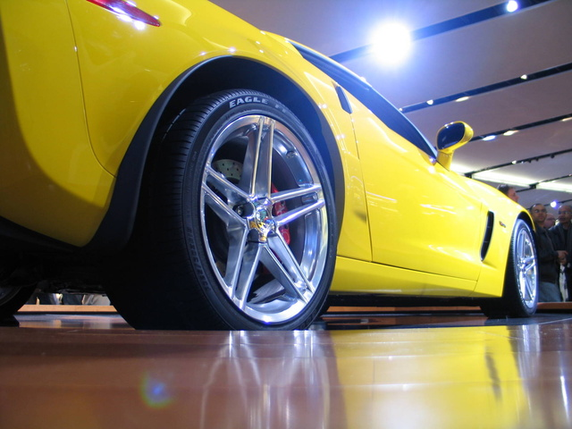 2008 Chevrolet Corvette Z06 Coupe RWD, yELLOW Z06, gallery_worthy