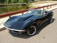 1969 Chevrolet Corvette Convertible, 1969 Conv.