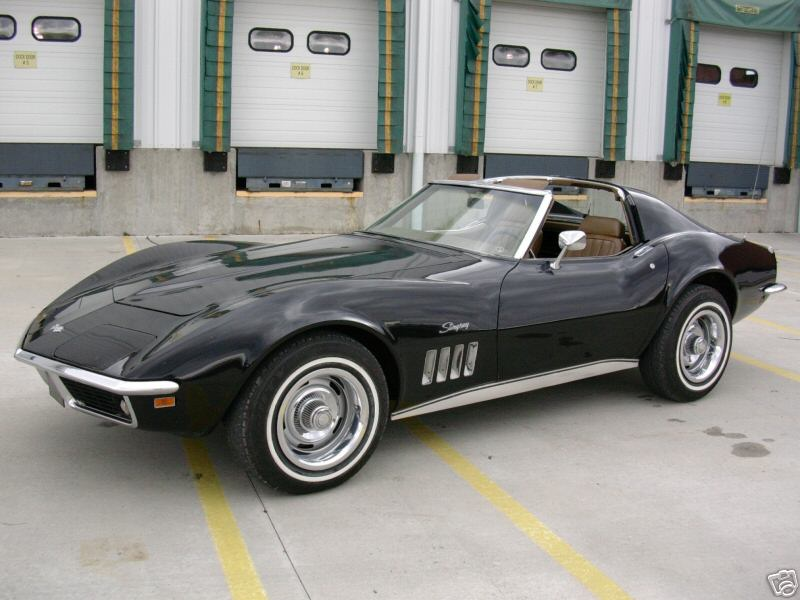 1968 Chevrolet Corvette Coupe, 1968 Corvette, exterior
