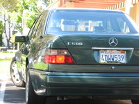 1994 Mercedes-Benz E-Class E500, Picture of 1994 Mercedes-Benz E500 Mercedes-Benz E500 Sedan