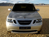 2008 Saab 9-7X, front, exterior, gallery_worthy