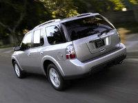 2008 Saab 9-7X, back, exterior
