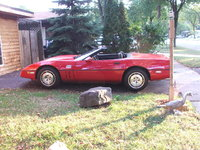 Picture of 1986 Chevrolet Corvette Convertible, exterior