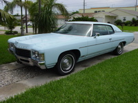 1971 Chevrolet Impala, 2 door 1971 impala, 58,000 oringinal miles 350. 2nd owner
