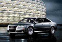 2008 Audi A8, side, exterior