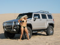 2007 Hummer H3 4 Dr Luxury, My babes at Pismo dunes, exterior