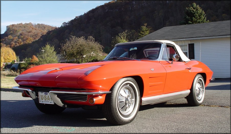 1965 Chevrolet Corvette, Picture of 1967 Chevrolet Corvette Convertible Roadster, exterior