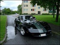 1974 Chevrolet Corvette Coupe, Blown 74 , exterior