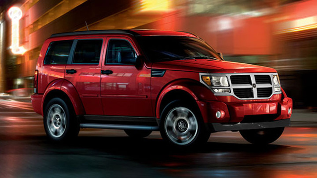 2007 Dodge Nitro, side, exterior, manufacturer, gallery_worthy