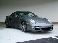 2007 Porsche 911 Turbo AWD, 2007 997/911 Turbo Meteor Grey, exterior