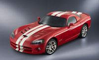 2008 Dodge Viper SRT10 Coupe, side, exterior