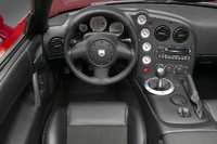 2008 Dodge Viper SRT10 Coupe, driver's seat, interior