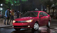 2008 Ford Focus, side, exterior, manufacturer