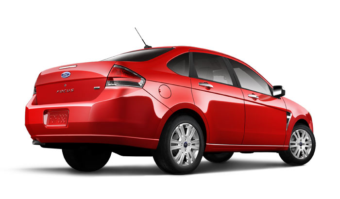 2008 Ford Focus, back, manufacturer, exterior