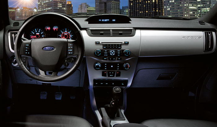2008 Ford Focus, driver's seat, manufacturer, interior