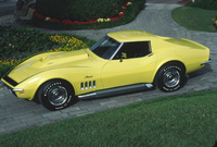 1969 Chevrolet Corvette Coupe, 1969 ZL-1 Corvette one of two built