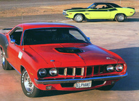 1971 Plymouth Barracuda, The 1971 Hemi Cuda, exterior