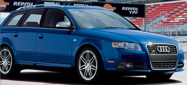 2007 Audi S4 Avant, side, exterior, manufacturer