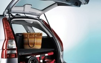 2008 Honda CR-V, trunk, manufacturer, interior