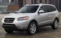 2008 Hyundai Santa Fe, side, exterior, manufacturer