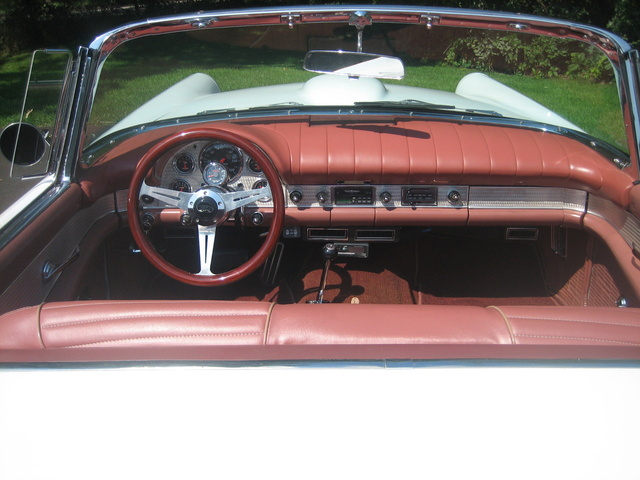 1957 Ford Thunderbird, The original color of the car was copper. That's why the interior is copper., gallery_worthy