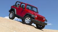 2008 Jeep Wrangler, Front-quarter view, exterior, manufacturer