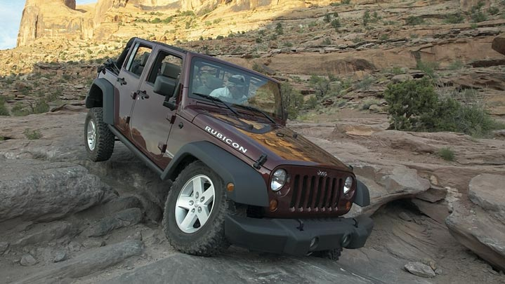 2007 Jeep Wrangler, Another front-quarter view, manufacturer, exterior