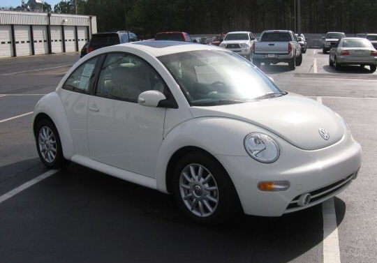 The 2005 Volkswagen Beetle