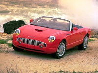 2004 Ford Thunderbird Base Convertible, 2004 Ford Thunderbird picture, exterior