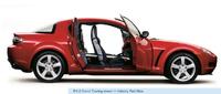 2006 Mazda RX-8, side, exterior, manufacturer