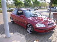 1997 Honda Civic DX Coupe, 1997 Honda Civic 2 Dr DX Coupe picture