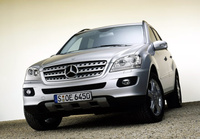 2007 Mercedes-Benz M-Class ML500, 2007 Mercedes-Benz ML500 Base picture, exterior