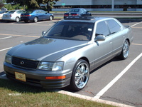 1996 Lexus LS 400 Base, my car is just hanging out in the sun, exterior