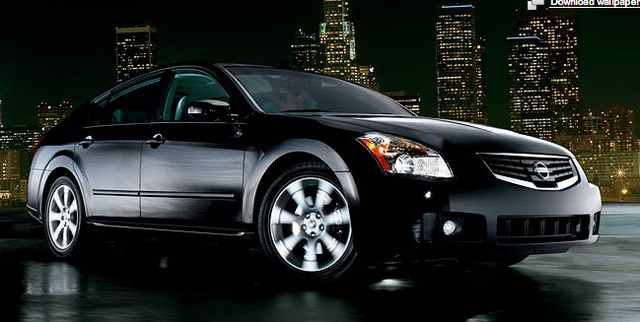 2008 Nissan Maxima, side, exterior, manufacturer, gallery_worthy