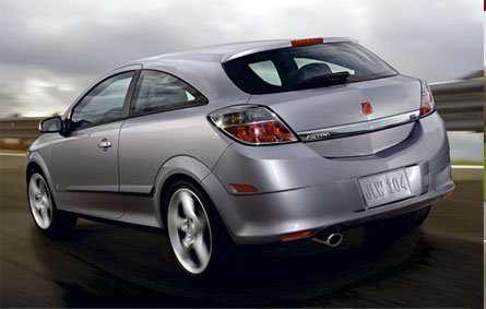 2008 Saturn Astra, side, manufacturer, exterior