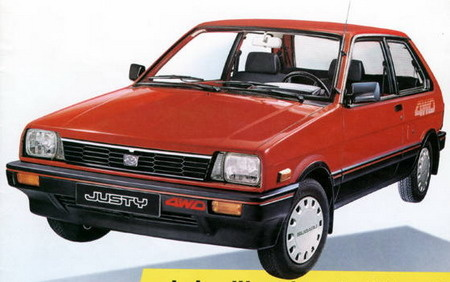Picture of 1990 Subaru Justy 2 Dr GL 4WD Hatchback
