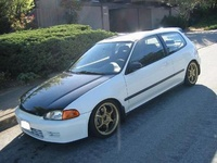 1995 Honda Civic DX Hatchback, 1995 Honda Civic 2 Dr DX Hatchback picture