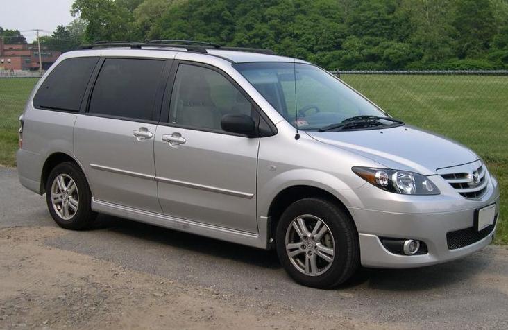2005 Mazda MPV, exterior