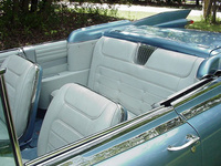 Interior of a beautiful 1959 Cadillac Eldorado convertible, interior