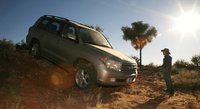 2008 Toyota Land Cruiser Base, side, manufacturer, exterior